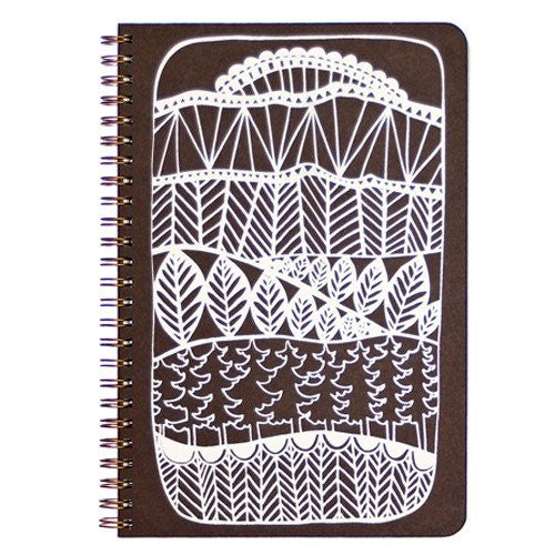 Enchanted Forest Design Notebook