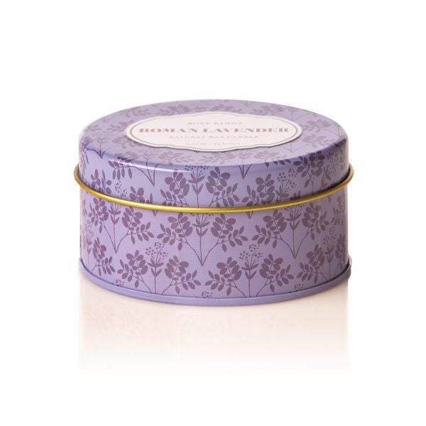 Roman Lavender Soy Blend Candle Travel Tin