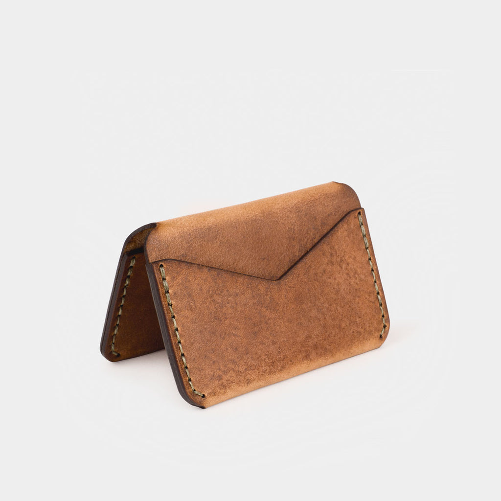 Triple Wallet - Tobacco Dublin