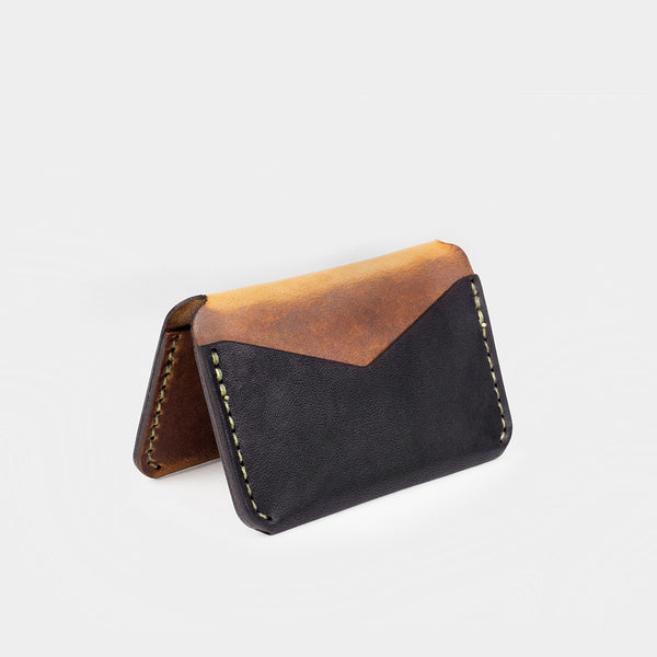 Triple Wallet - Tobacco/Black Dublin