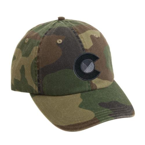 Camo Colorado Logo Hat
