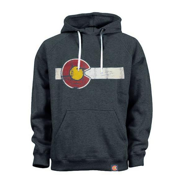 Classic Colorado Flag Pullover Hoodie