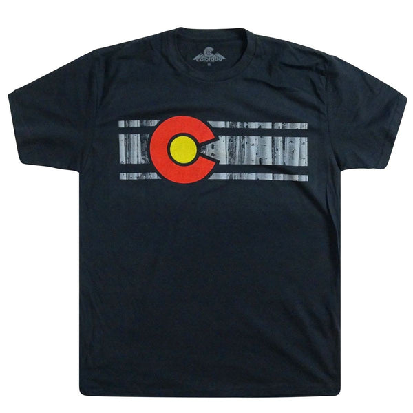Colorado Flag Aspen T-Shirt (Men's)