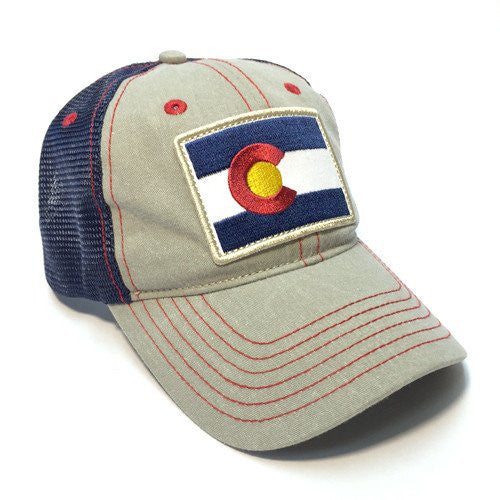 CO Diesel Flag Patch Trucker Hat