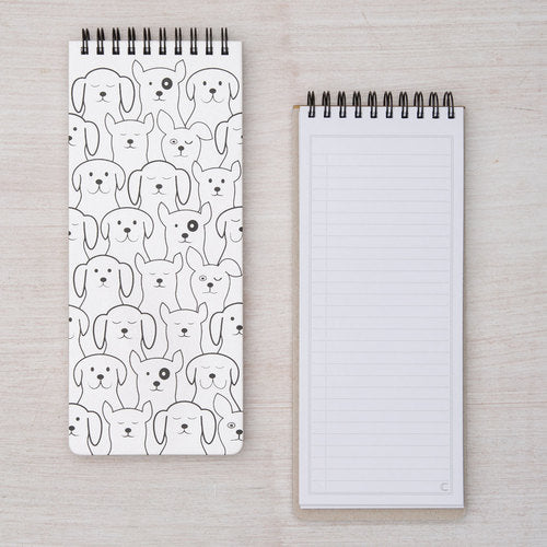 Dog on Dog Wish List Notebook