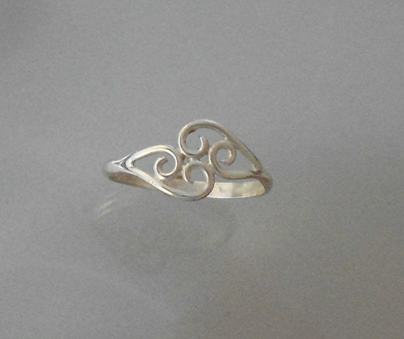 Lacey Ring - Sterling Silver