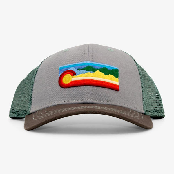 Low Pro C Scape Trucker - Grey/Green