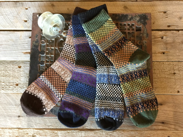 Mt. Harvard Merino & Angora Socks