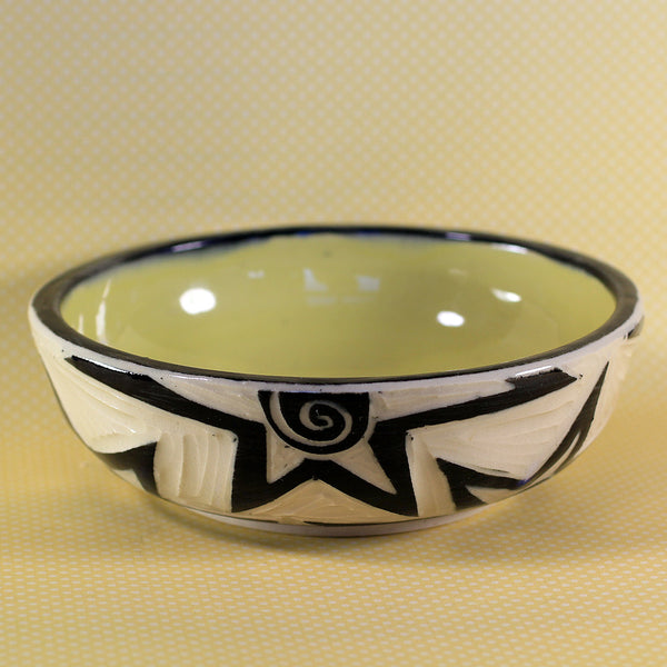 Small Bowl Star Pattern (Yellow)