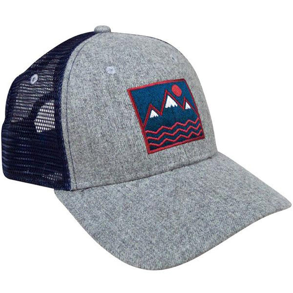Wool Square Mountain Vibes Trucker