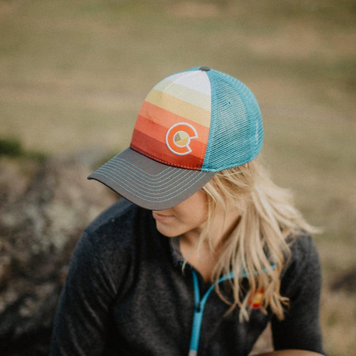 Sunset Fader Trucker (Small Fit)