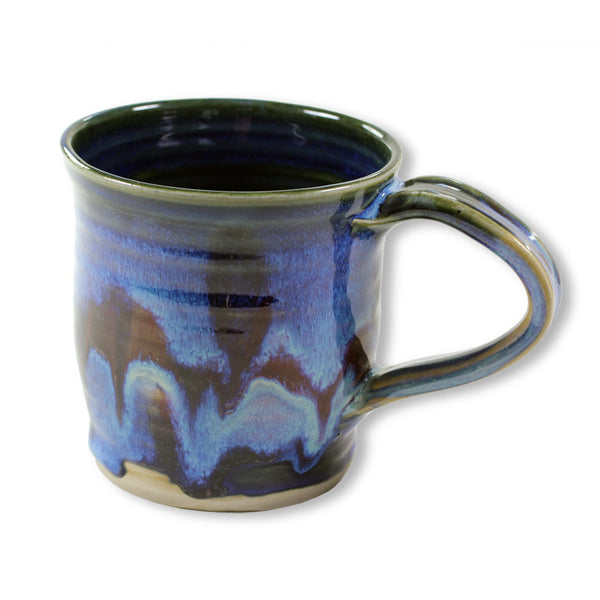 Short Mug in Cobalt Blue