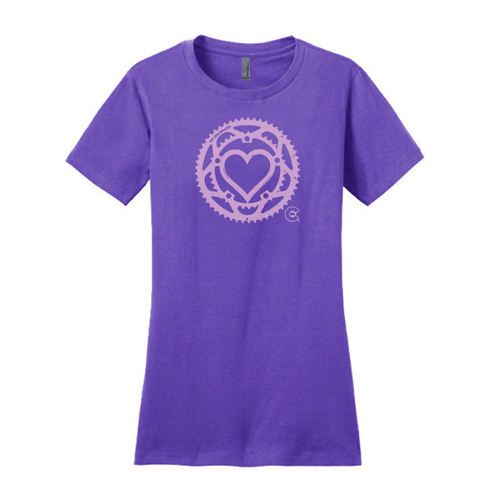 Chain Ring Love T-Shirt - Fitted Cut