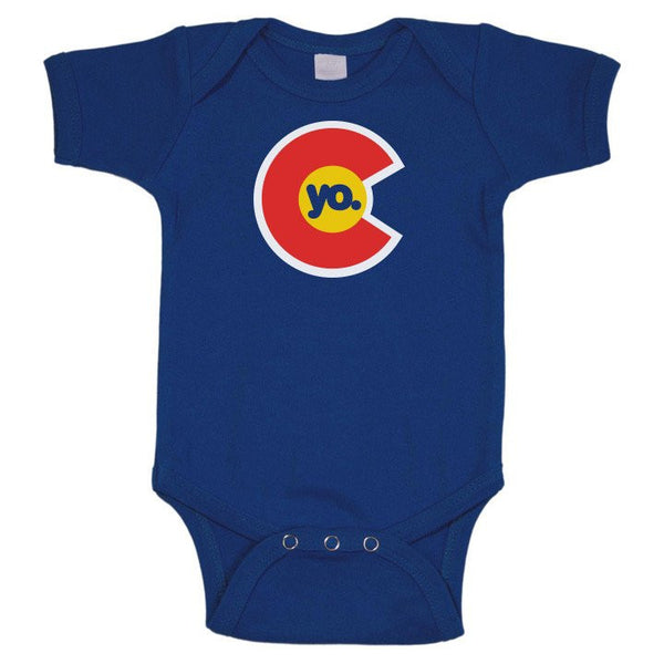 Yo Colorado Flag Infant One Piece