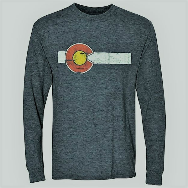 Classic Colorado Flag Long Sleeve T-Shirt