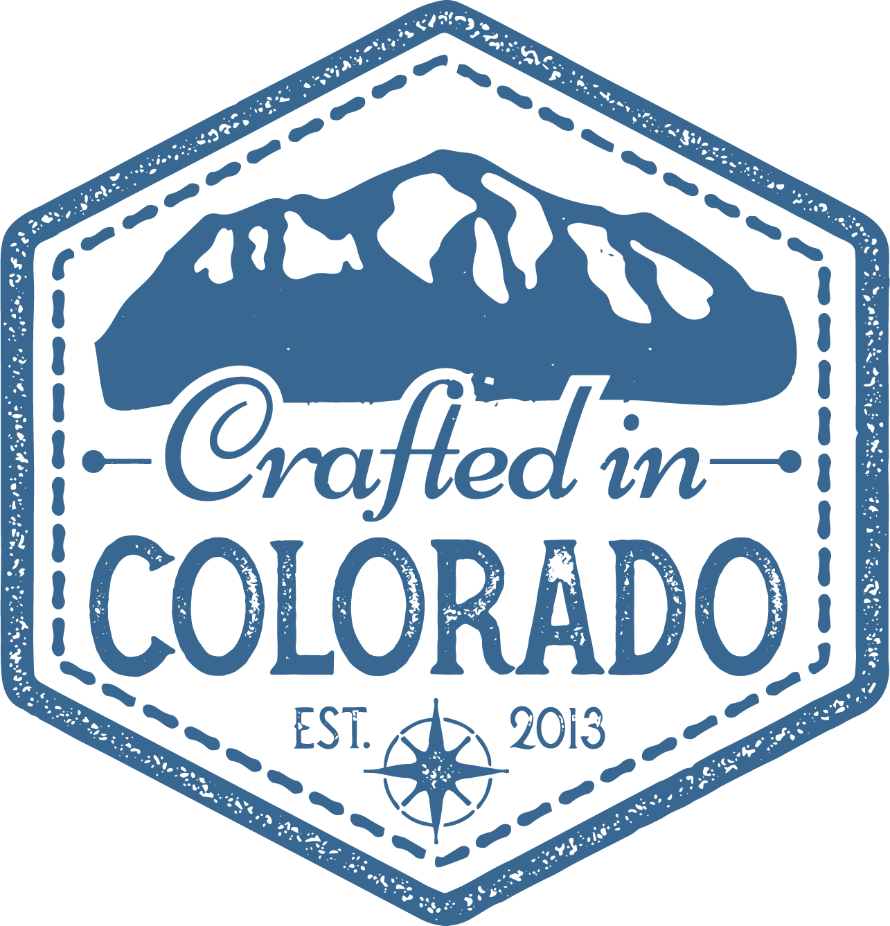 Crafted in Colorado logo