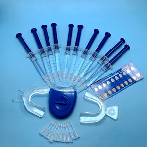 KIT de CLAREAMENTO DENTÁRIO COM LUZ DE LED - Teeth Whitening