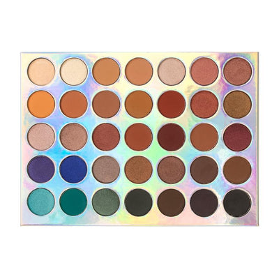 CROWN 35 COLOR OMG EYE SHADOW COLLECTION