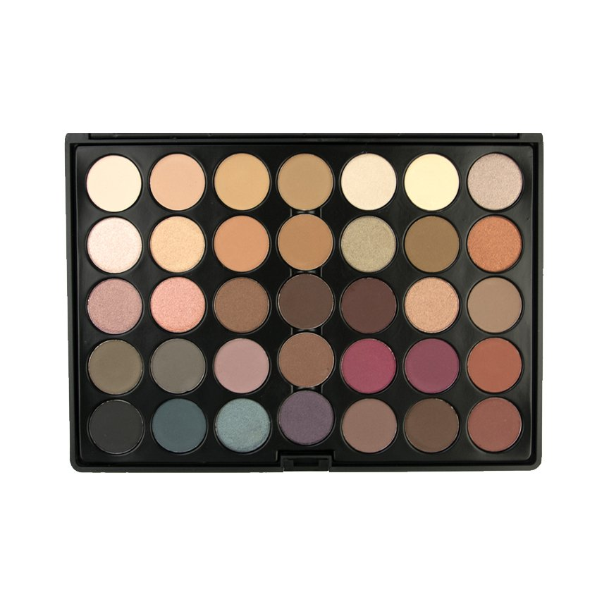 CROWN BRUSH 35 COLOR TIMELESS COLLECTION PALETTE