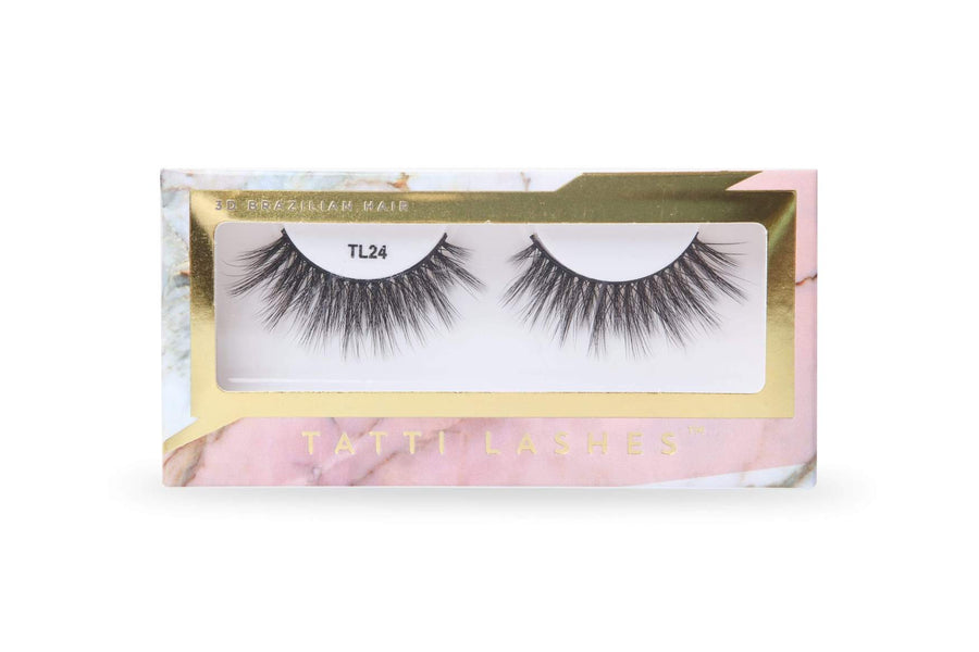 TATTI LASHES TL24 3D BRAZILIAN SILK