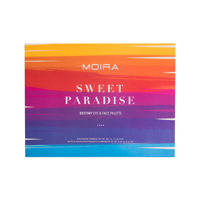 MOIRA BEAUTY DESTINY EYE & FACE PALETTE - SWEET PARADISE
