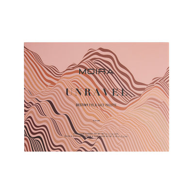 MOIRA BEAUTY DESTINY EYE & FACE PALETTE - UNRAVEL