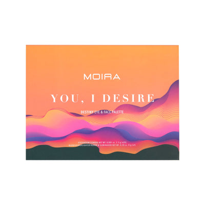 MOIRA BEAUTY DESTINY EYE & FACE PALETTE - YOU, I DESIRE