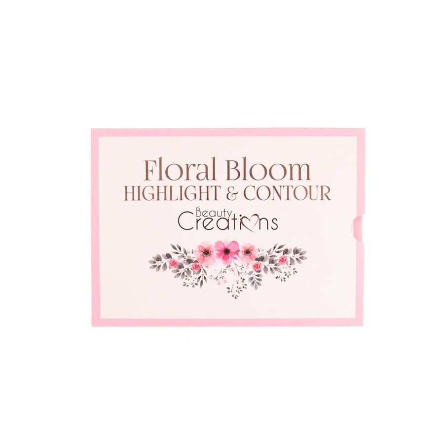 BEAUTY CREATIONS FLORAL AND BLOOM HIGHLIGHT AND CONTOUR PALETTE