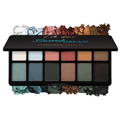 LA GIRL INSPRING EYESHADOW PALETTES - GET FEVERISH