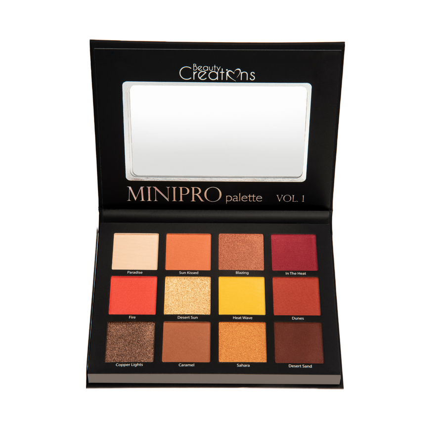 BEAUTY CREATIONS MINI PRO VOL 1 EYESHADOW PALETTE