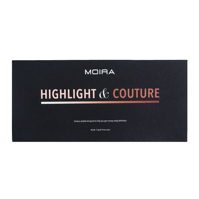 MOIRA BEAUTY - HIGHLIGHT & COUTURE PALETTE