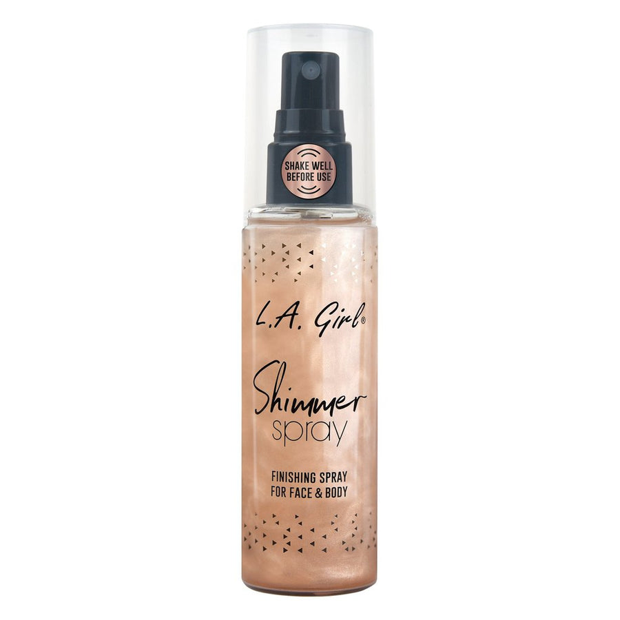 LA GIRL ROSE GOLD SHIMMER SPRAY