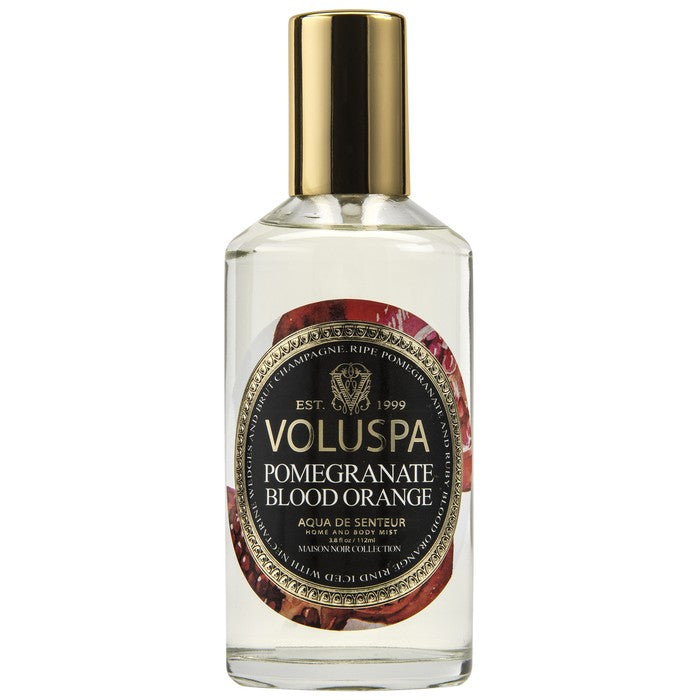 VOLUSPA ROOM AND BODY SPRAY, POMEGRANITE BLOOD ORANGE