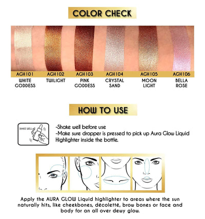 JCAT AURA GLOW LIQUID HIGHLIGHTER