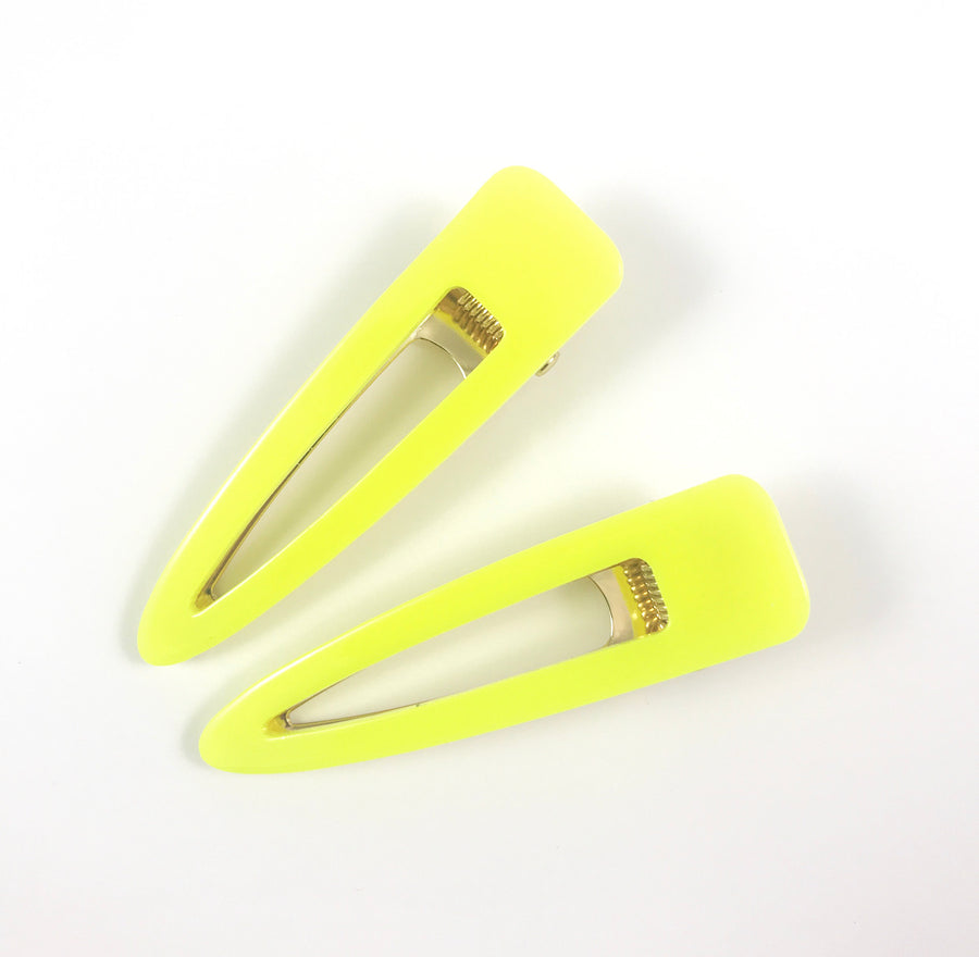 FROSTING ACCESSORIES NEON HAIR CLIPS