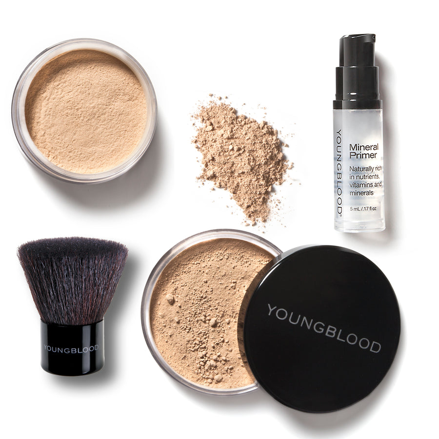 YOUNGBLOOD FOUNDATION KIT - HONEY