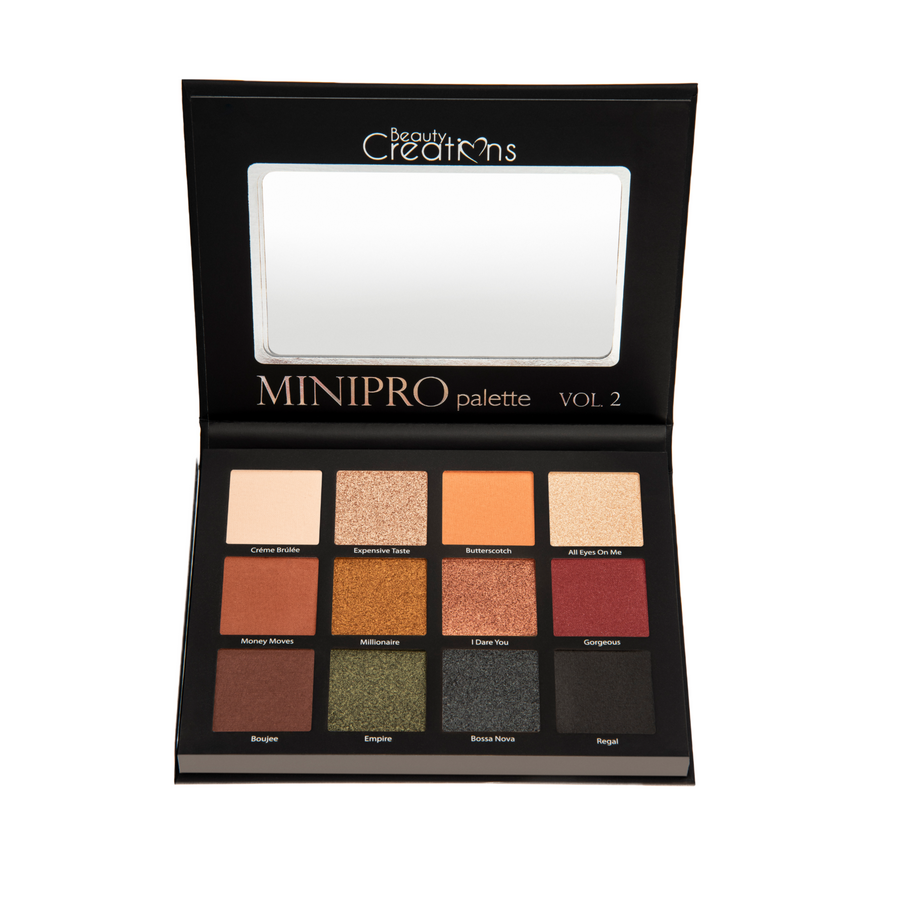 BEAUTY CREATIONS MINI PRO VOL 2 EYESHADOW PALETTE