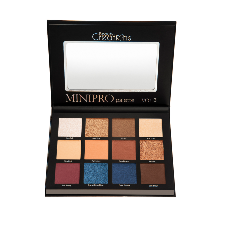 BEAUTY CREATIONS MINI PRO VOL 3 EYESHADOW PALETTE