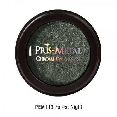 JCAT PRIS-METAL CHROME EYE MOUSSE - FOREST NIGHT