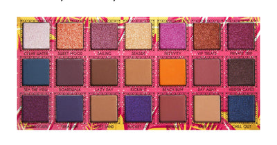 JCAT TAKE ME AWAY 21 COLOR EYESHADOW PALETTE - SECRET PARADISE