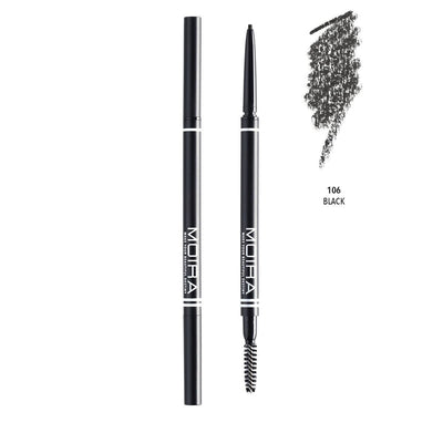 MOIRA FINE BROW PENCIL - BLACK