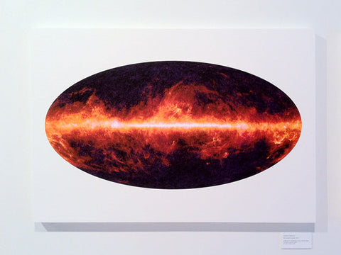 Microwave Universe (mounted print)