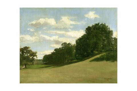 "'Prospect Park II Afternoon', 18"" x 24"" Limited edition giclee print Hahnemuhle Museum Rag 340 gsm paper"