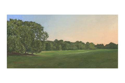 "'Long Meadow Evening, 18"" x 24,"" Limited edition giclee print Hahnemuhle Museum Rag 340 gsm paper"