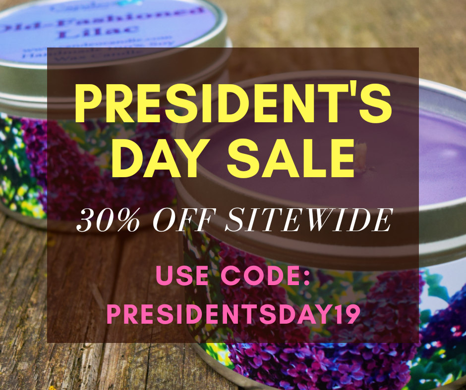 President's Day Sale Starts Now!