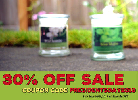 Sitewide Presidents Day Sale Starts Now! 30% Off your entire order!