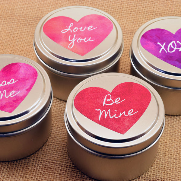 Valentines Day Scented Soy Candle Gift Scent