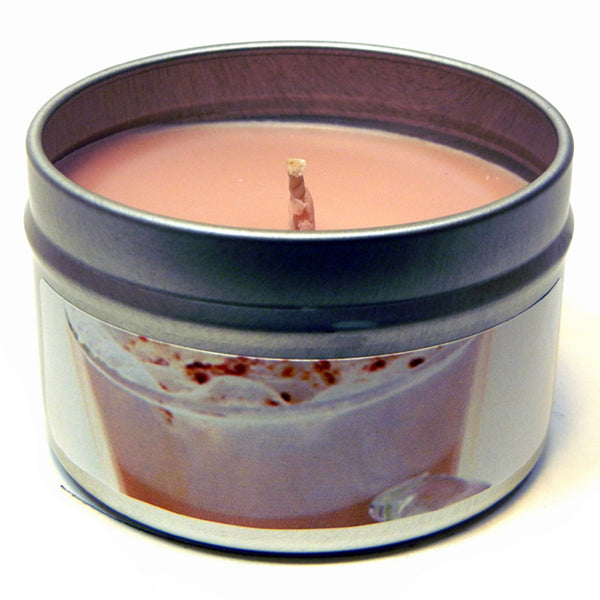 Chai Latte, 4oz Soy Candle Tin - Candeo Candle - 2