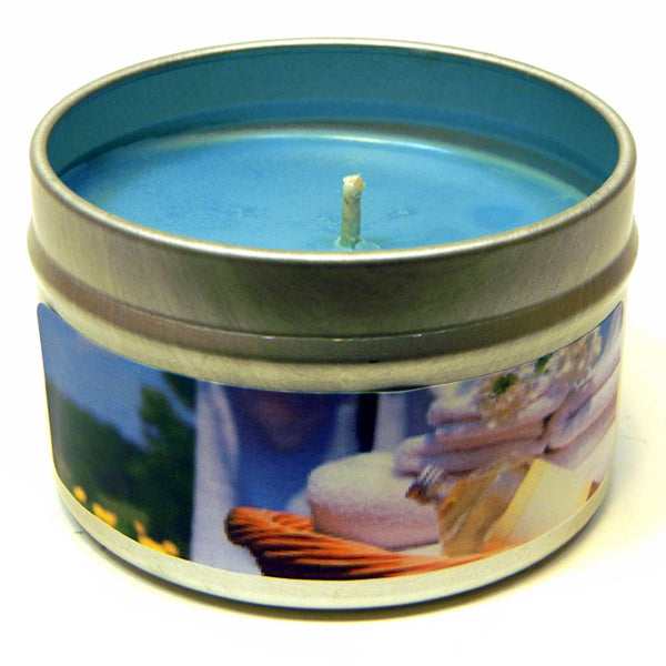 Clean Cotton, 4oz Soy Candle Tin - Candeo Candle - 2