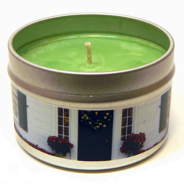 Colonial Bayberry, 4oz Soy Candle Tin - Candeo Candle - 2